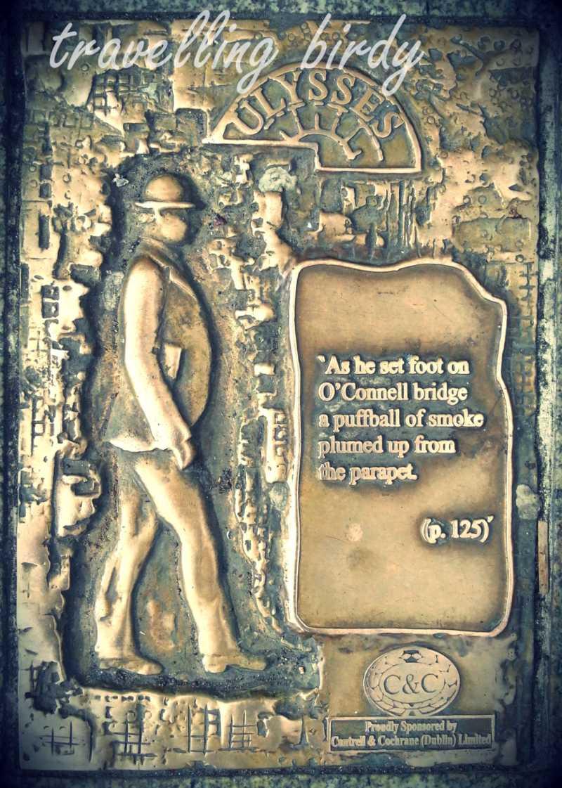 Dublin's Ulysses plaques